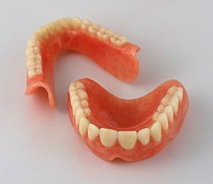 Съемные зубные протезы (изображение)